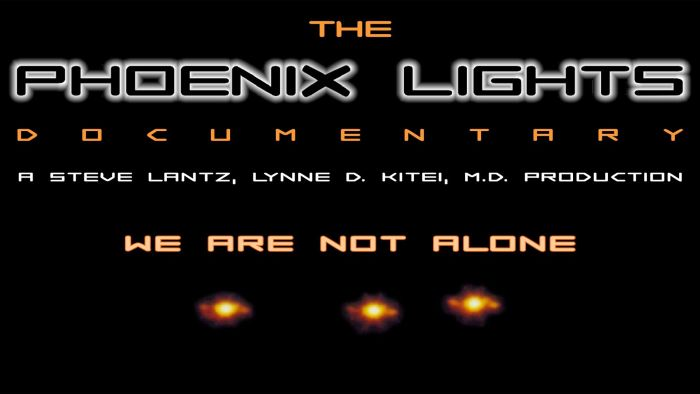 The Phoenix Lights ET Ship Incident